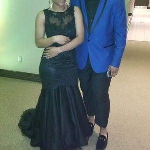 Black Clarisse Prom Dress